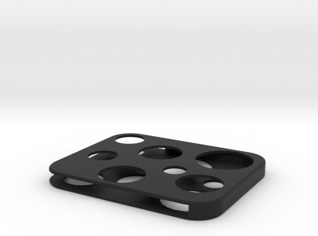 Flash Cover Swiss Cheese 3d printed