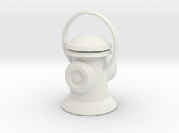 Lantern in White Natural Versatile Plastic