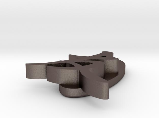 'Friend' pendant 3d printed