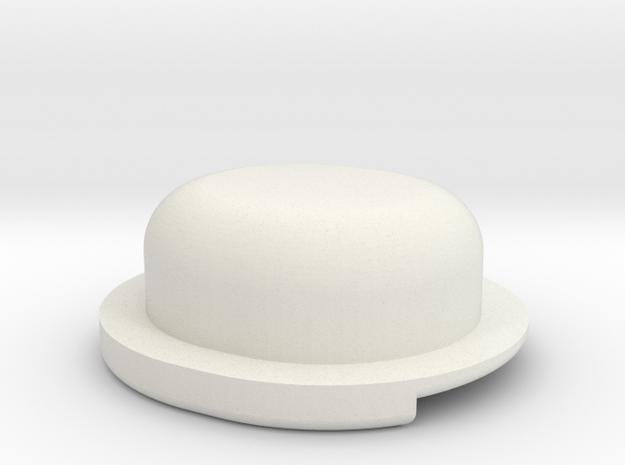 MotoBi Kill Button in White Natural Versatile Plastic
