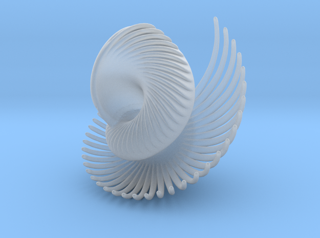 Fractal Conch -2 3d printed