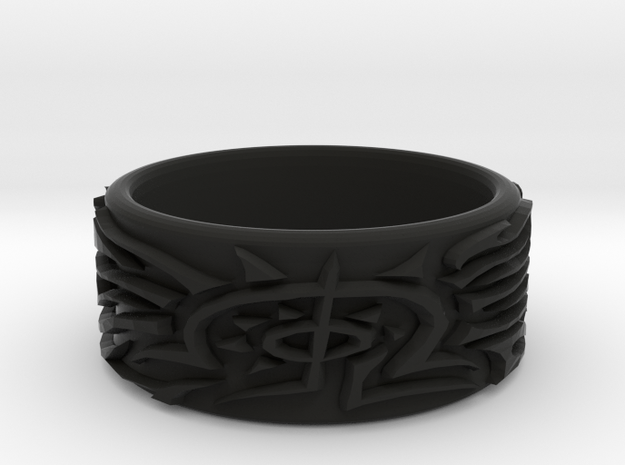 Eldritch Ring - Finger - Size 11.5 3d printed