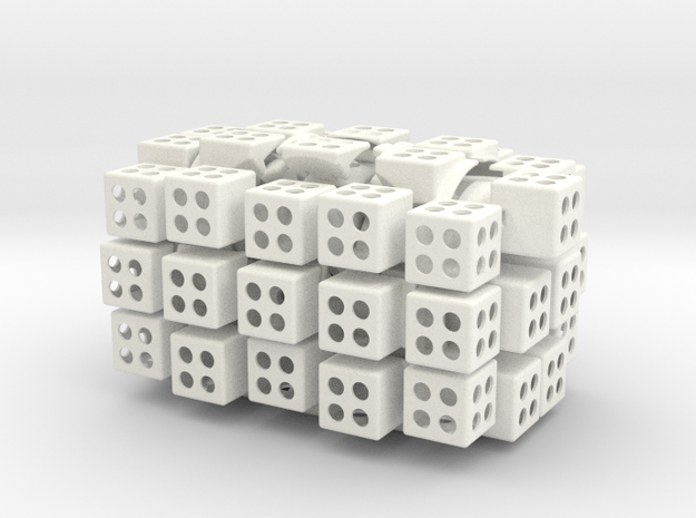 3x4x5 cuboid puzzle (fully functional) 3d printed