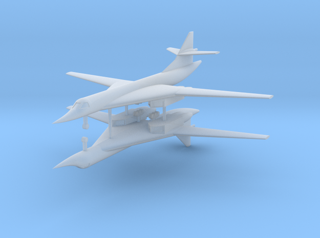 1/700 TU-160 Blackjack (x2) in Smooth Fine Detail Plastic
