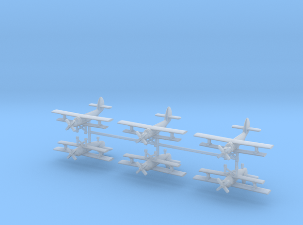1/700 AN-2 Colt (x6) in Smooth Fine Detail Plastic