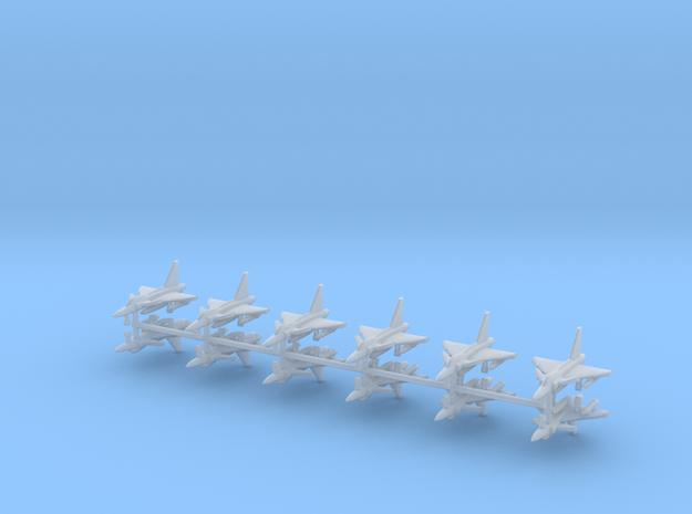 1/700 SAAB JAS 39 Gripen (x12) in Smooth Fine Detail Plastic