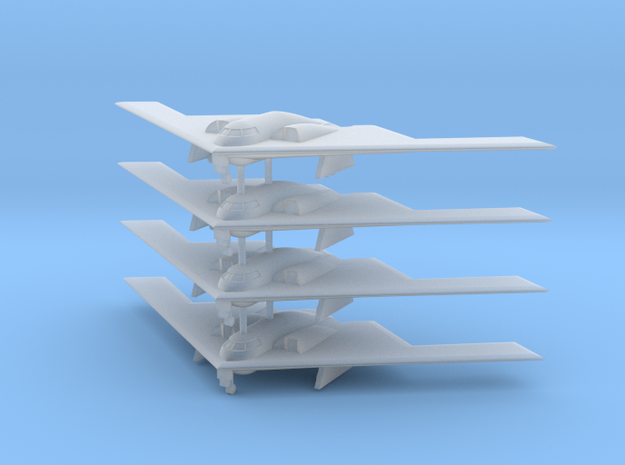 1/700 B-2 Spirit (Landing Gear Down) (x4)