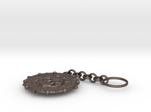 Pirate Coin Keychain 3d printed