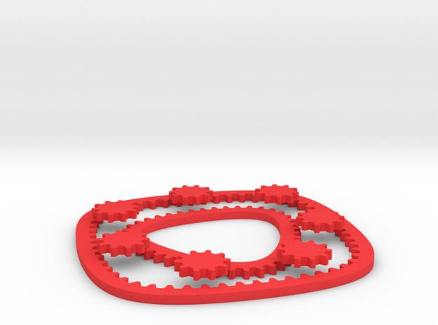 Hypotrochoid Gears 3d printed