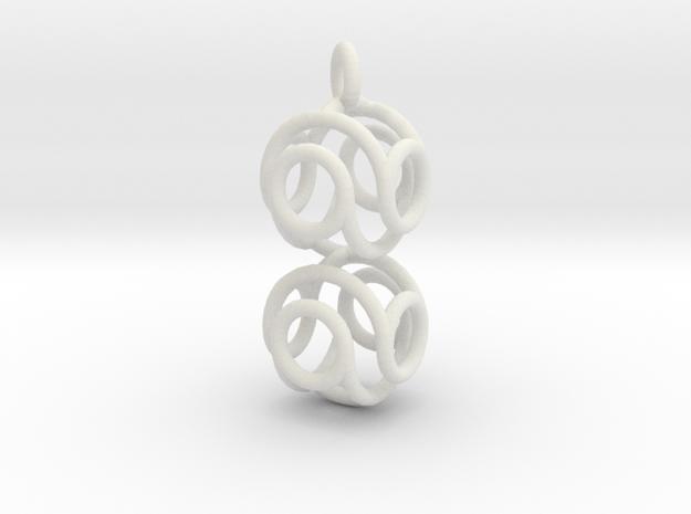Marble Pendant v3 3d printed