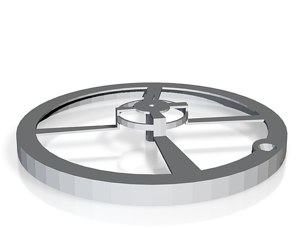 storthjul 3d printed