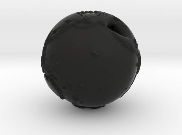 Globe Pendant 3d printed