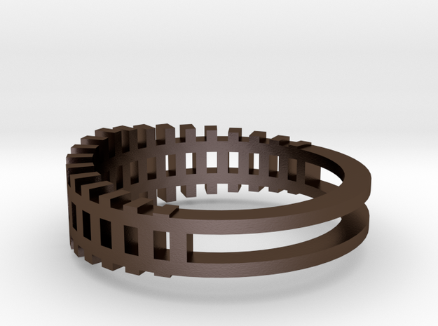 Ring - Grid1 3d printed