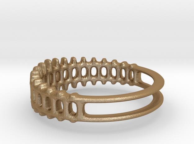 Ring - Grid1 Round 3d printed