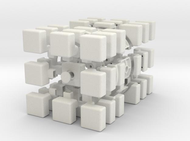 Cubic 3x3x6 3d printed