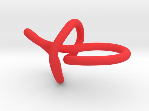 ring rood goed klein 3d printed