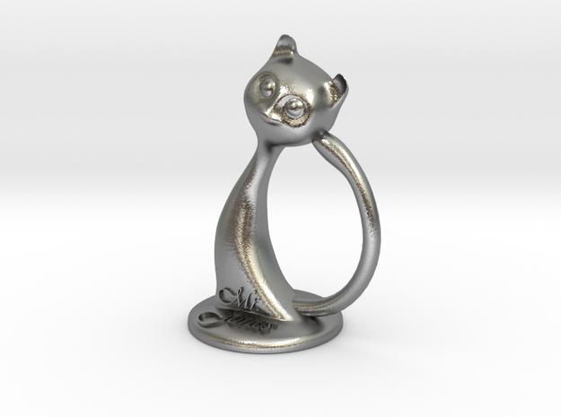 Napkin ring - Male cat 3d printed