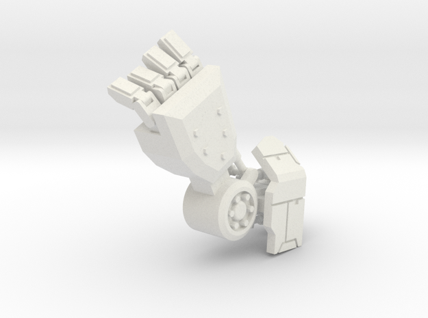 Robot Arm 90% in White Natural Versatile Plastic