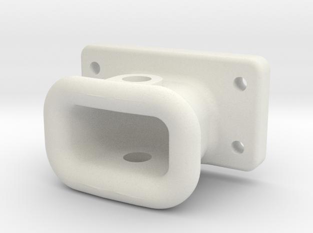 337 Drawhead 2380 in White Natural Versatile Plastic