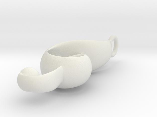 g clef in White Natural Versatile Plastic