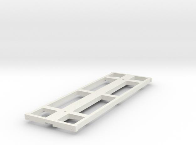 Underframe_short in White Natural Versatile Plastic