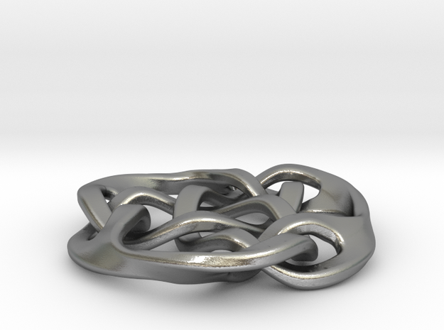 celtic triade closed d36mm in Raw Silver