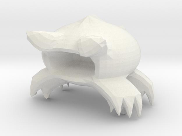 crabble_000.dae in White Natural Versatile Plastic