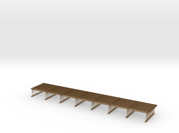 Crash Barrier Profile B (HO) 3d printed