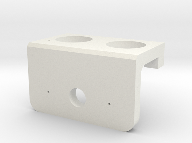 Heavy Duty Servo Mount for Ultrasonic Sensor 3d printed