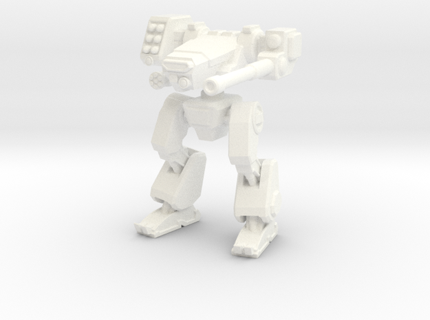Terran Combat Walker 3d printed Combat Walker in WS&F material.