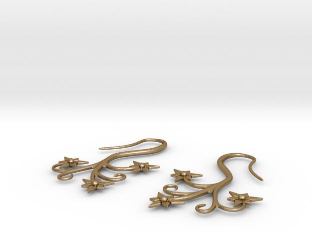 Flora Earrings - Stainless Steel