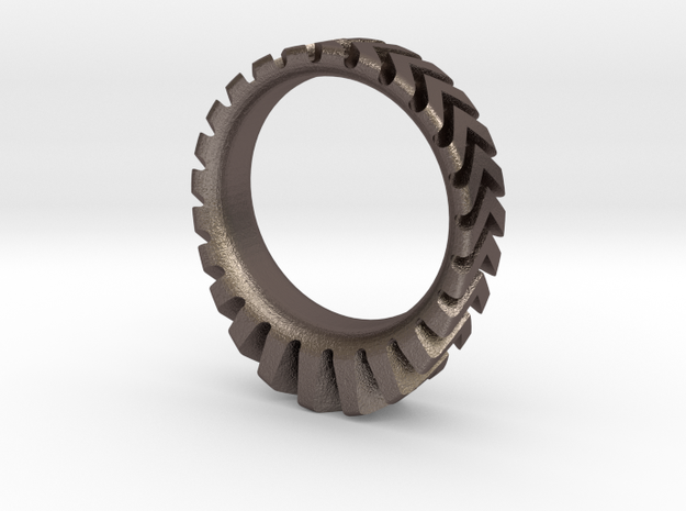 Sun Sprocket Grip Heavy in Stainless Steel