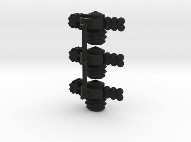 8 Satellite Type 3 x3 3d printed