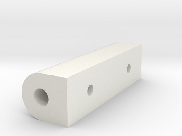 HAV-111_spacer_1.stl in White Natural Versatile Plastic