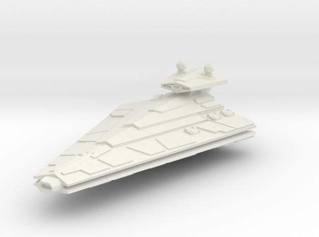 Destroyer in White Natural Versatile Plastic