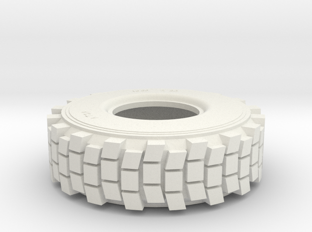 TIRE, HEMTT, 1/35 Hollow 3d printed