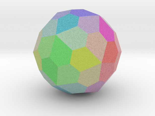 Colorful Pentagonal Hexecontahedron
