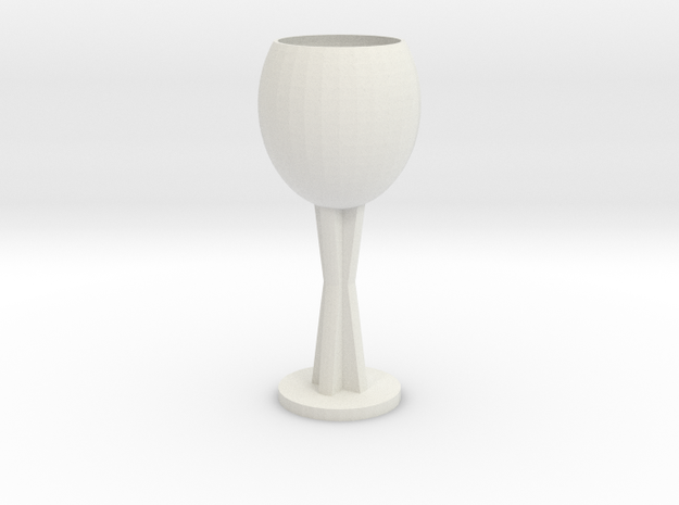 Wine glass 3d printed
