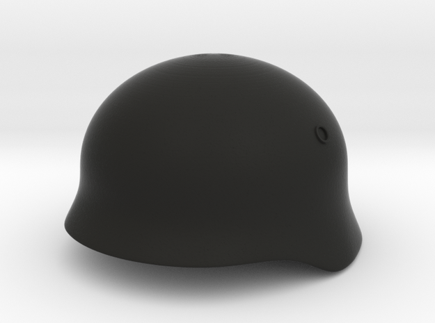 German WW1 (Test) in Black Natural Versatile Plastic