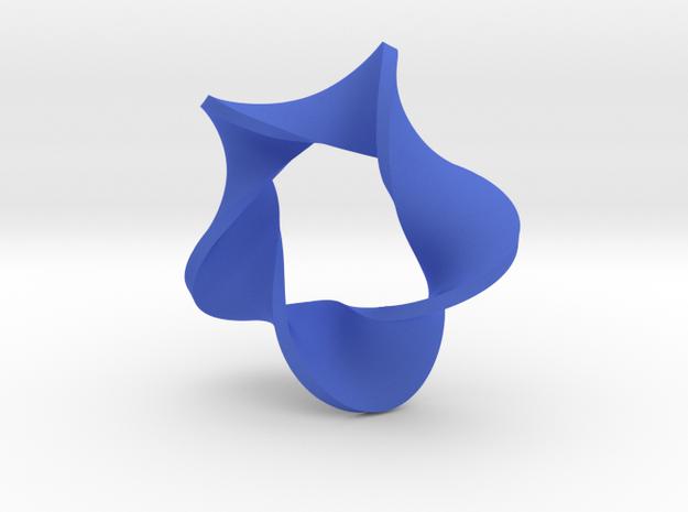 pentagonal moebius surface 3d printed