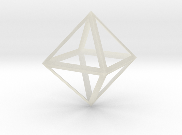 Octahedron Thicker - 6 cm 3d printed