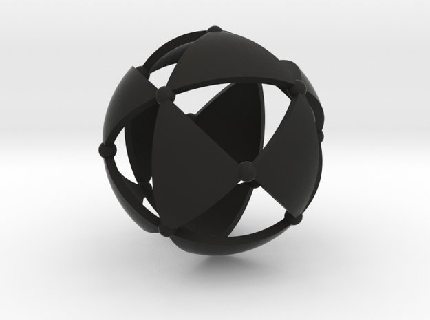 Tetrahedral group T 3d printed
