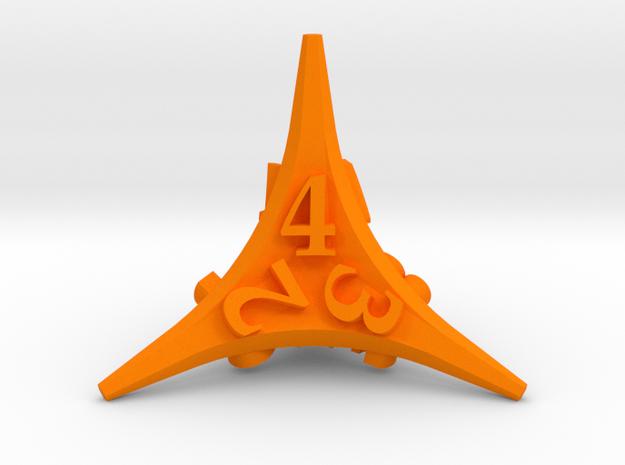 Caltrop Die4 3d printed