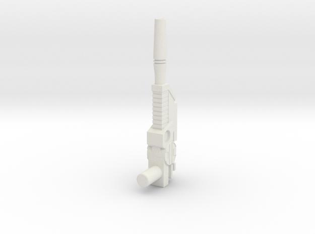 Classic Jazz lazer gun in White Natural Versatile Plastic