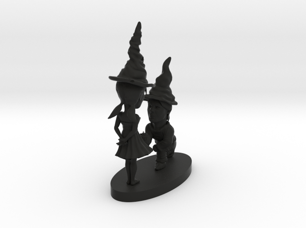 gnome couple 3d printed