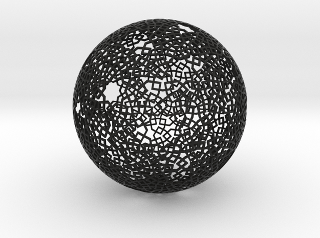 Two-point spherical star pattern 3d printed