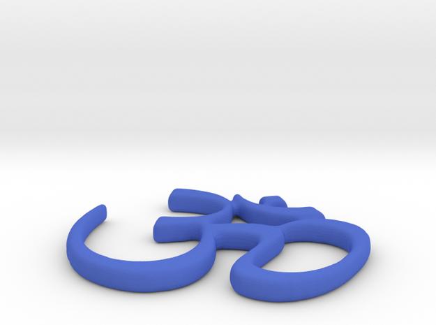 Ohm Symbol Pendant 3d printed