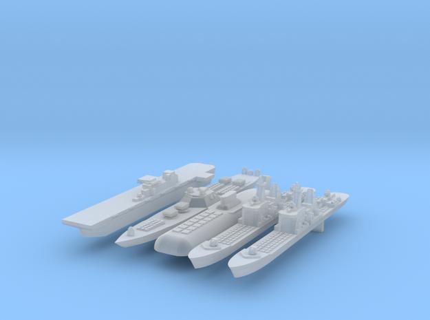 1:6000 Fleet 3d printed