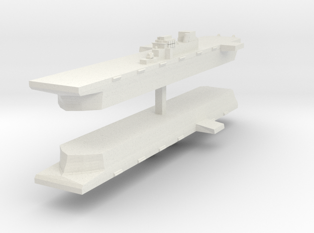 9 LHD 1:6000 x2 in White Natural Versatile Plastic