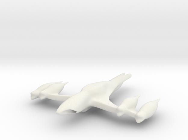 Eagle in White Natural Versatile Plastic